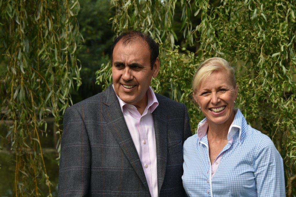 Ian Winfield and Vicki Thompson - Winfield